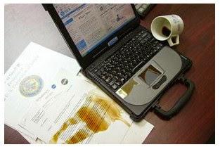 cara memperbaiki laptop yang rudak terkena air