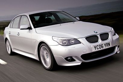 BMW 5 Series the best Safety