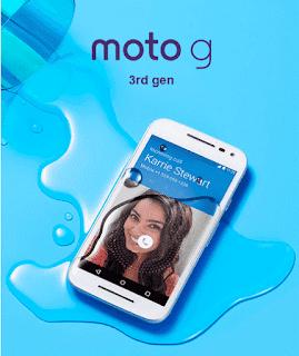 HP Android Terbaru Moto G Generasi Ke-3