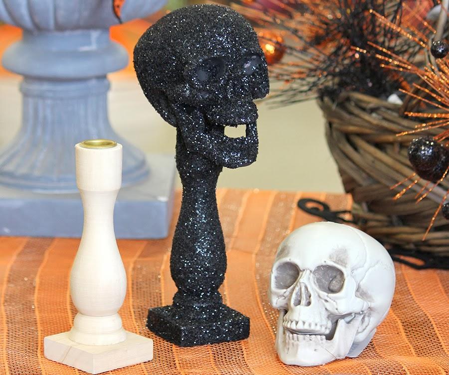 Ben franklin crafts and frame shop monroe wa skull and for Wooden candlesticks for crafts