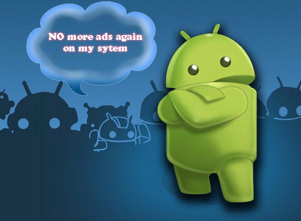 menghilangkan iklan di android