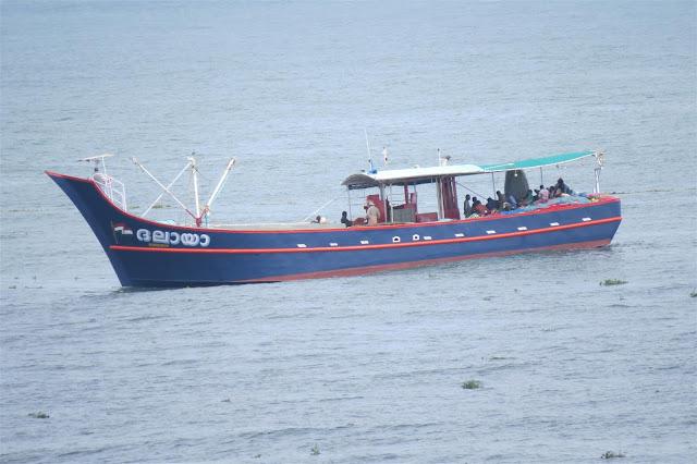 Boat near Kochi Port