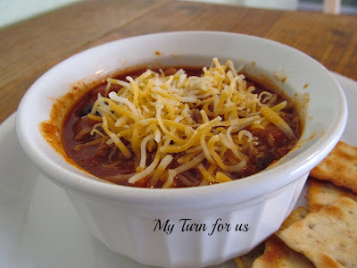 chili+w cheese Great Recipes: 5 New Dinner Ideas