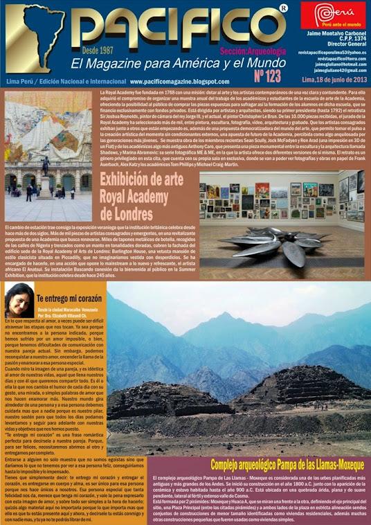 Revista Pacífico Nº 123 Arqueología