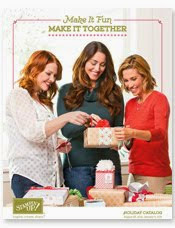Stampin' Up Holiday 2014 Catalog