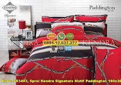 Harga Sprei Kendra Signature Motif Paddington 180×200 Jual