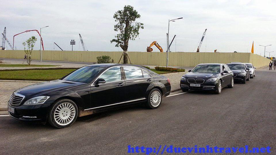 Cho thuê xe giá rẻ Mecerdes S550 giá thành ưu đãi tại Đức Vinh Trans