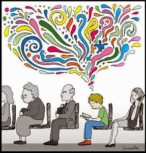 La lectura llena la vida de color.