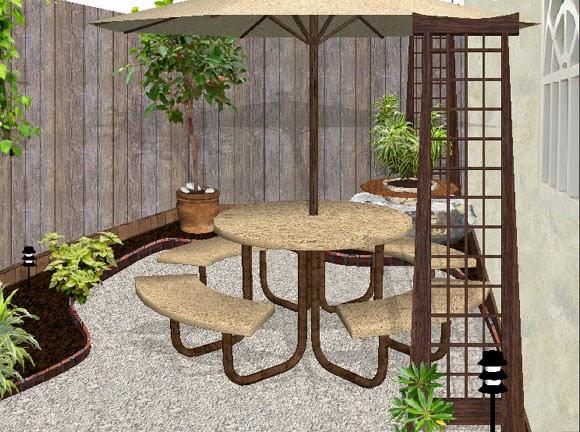 Dise os 2d de jardines fotos renders sobre varias fotograf as zen ambient Jardines rusticos pequenos
