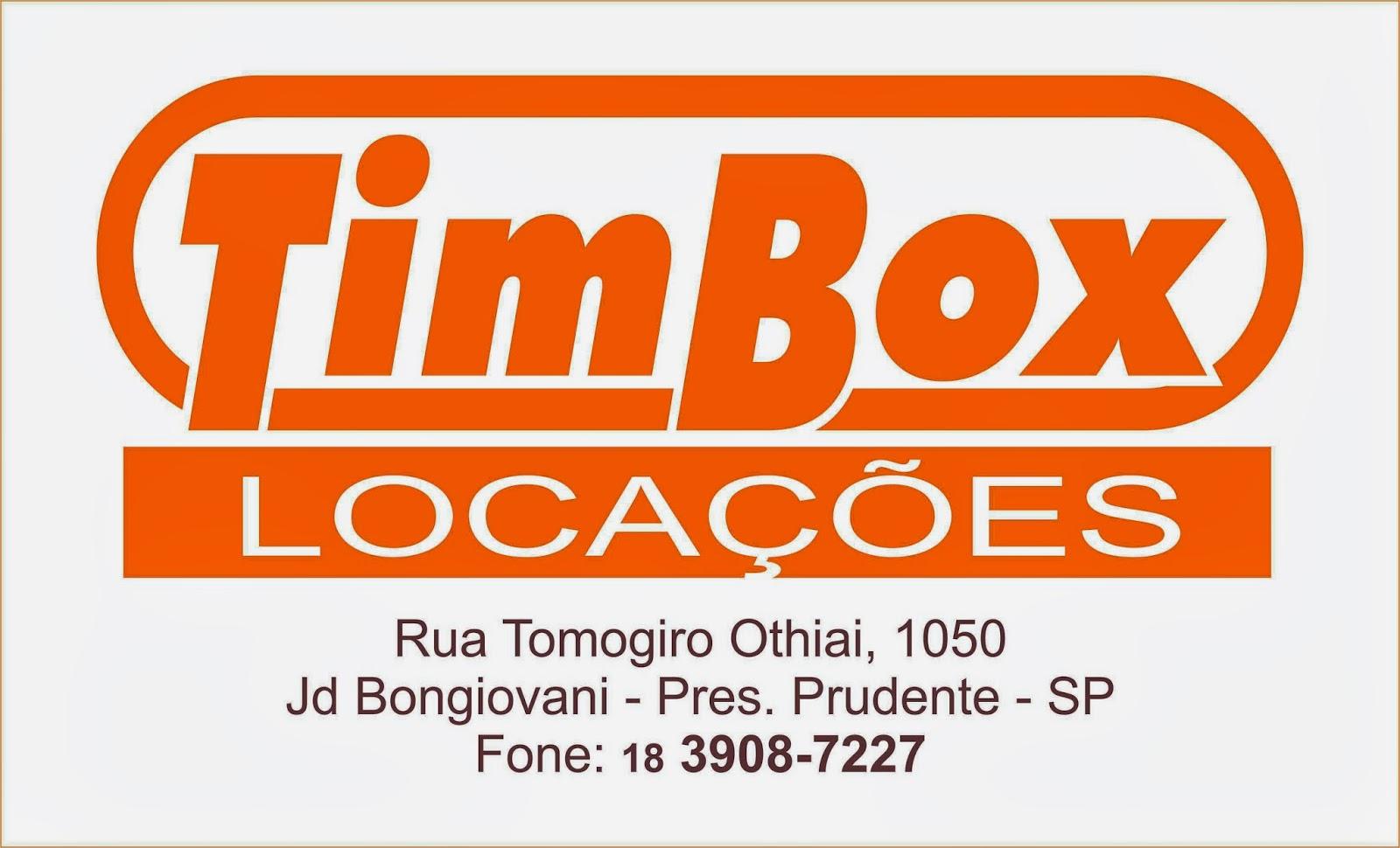 TIMBOX Locações de Containers
