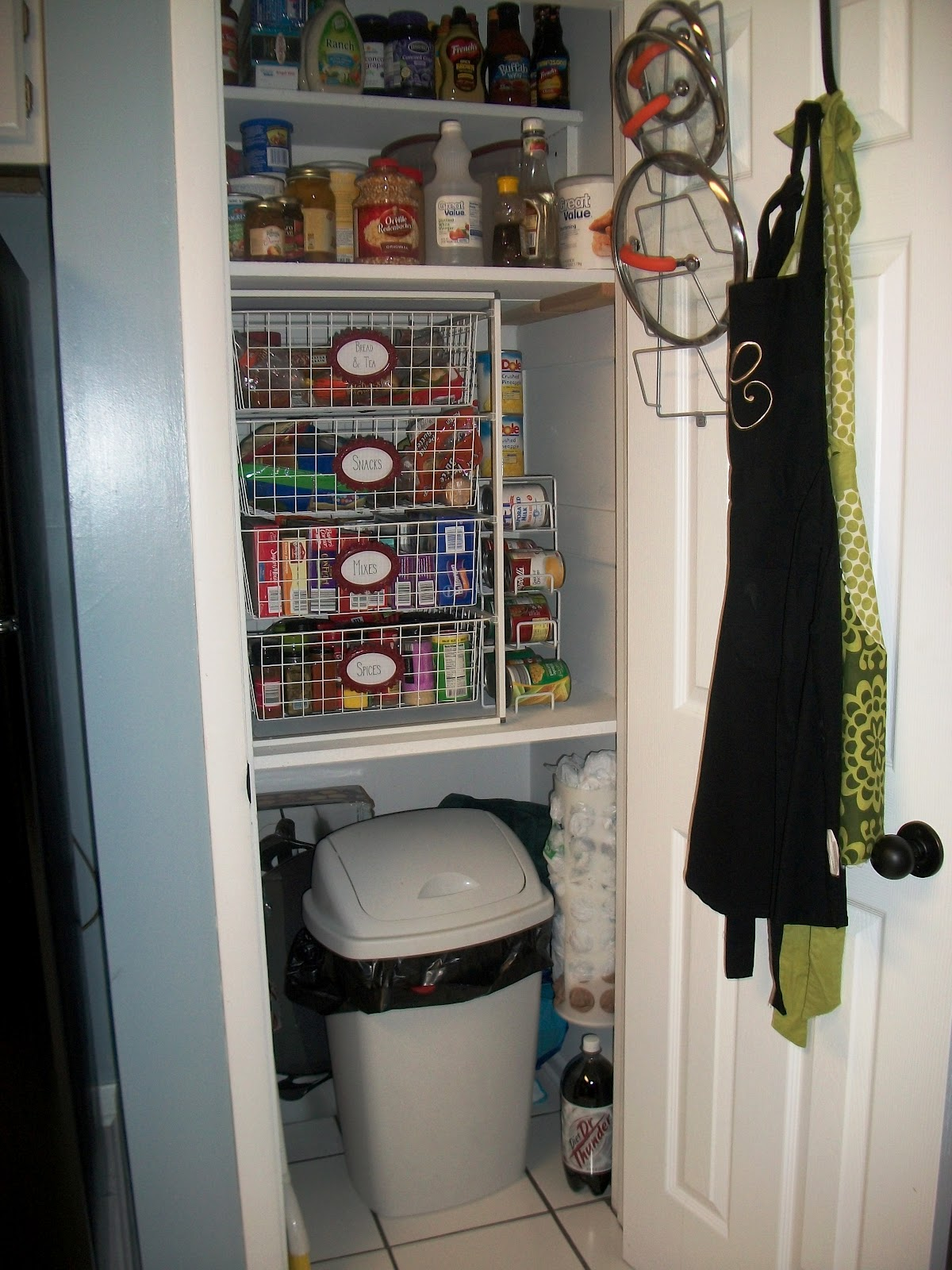 So The Cook Said A Little Pantry Makeover