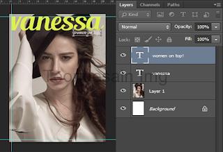 Cara Membuat Cover Majalah Menggunakan Adobe Photoshop 5