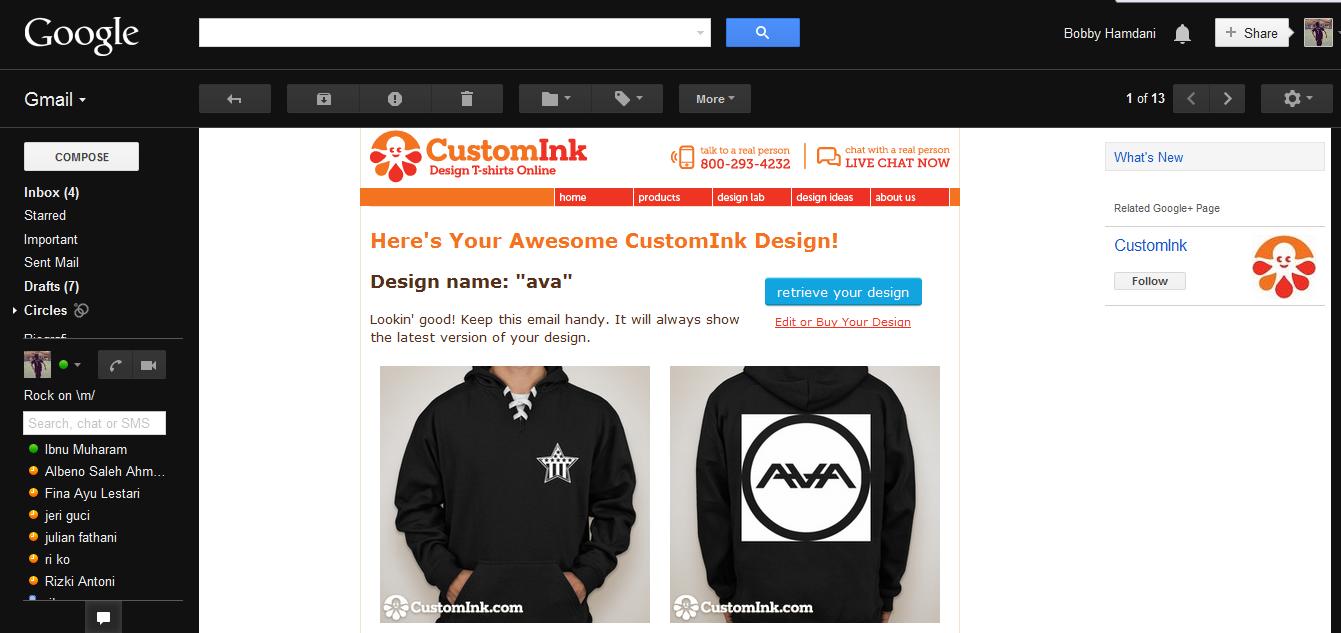 Iseng-Iseng Desain: Tutorial desain Jaket