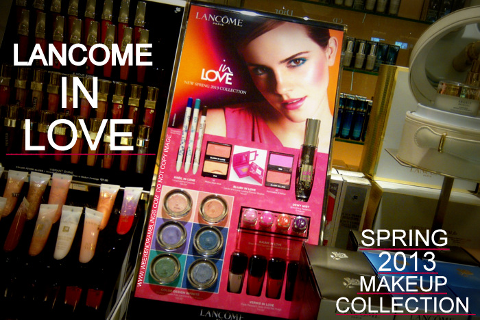 Lancome In Love Spring 2013 Makeup Collection Indian Beauty Blog Product Photos Swatches