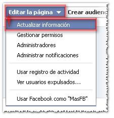 FB 2012 páginas