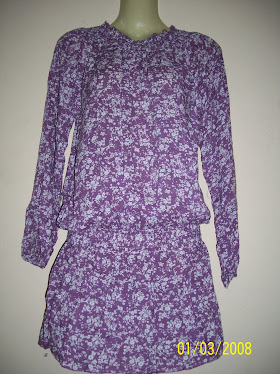 Long Purple Blouse - FR 37