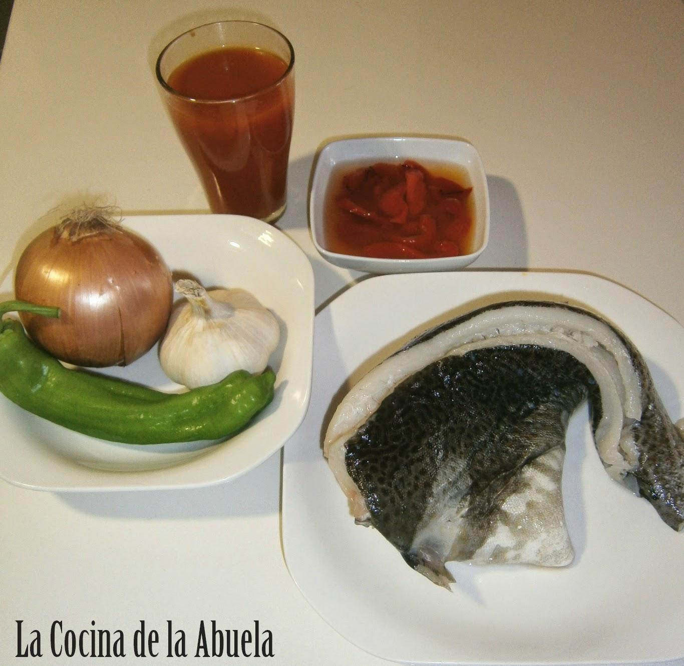 Bacalao a la Riojana.