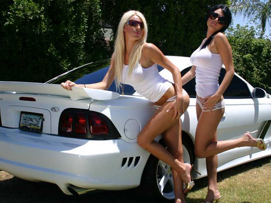 mustang girls pictures, ford mustang automotive news