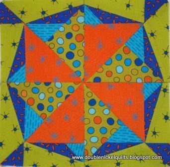 Quilt Patterns - Prairie Star 25'' Table Topper Pattern