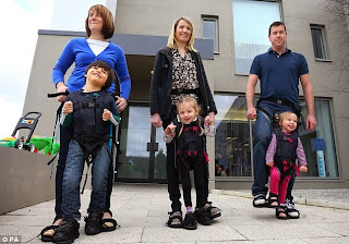 http://www.dailymail.co.uk/femail/article-2588157/Harness-hope-Invention-mother-wheelchair-bound-son-helps-physically-impaired-children-walk-time.html