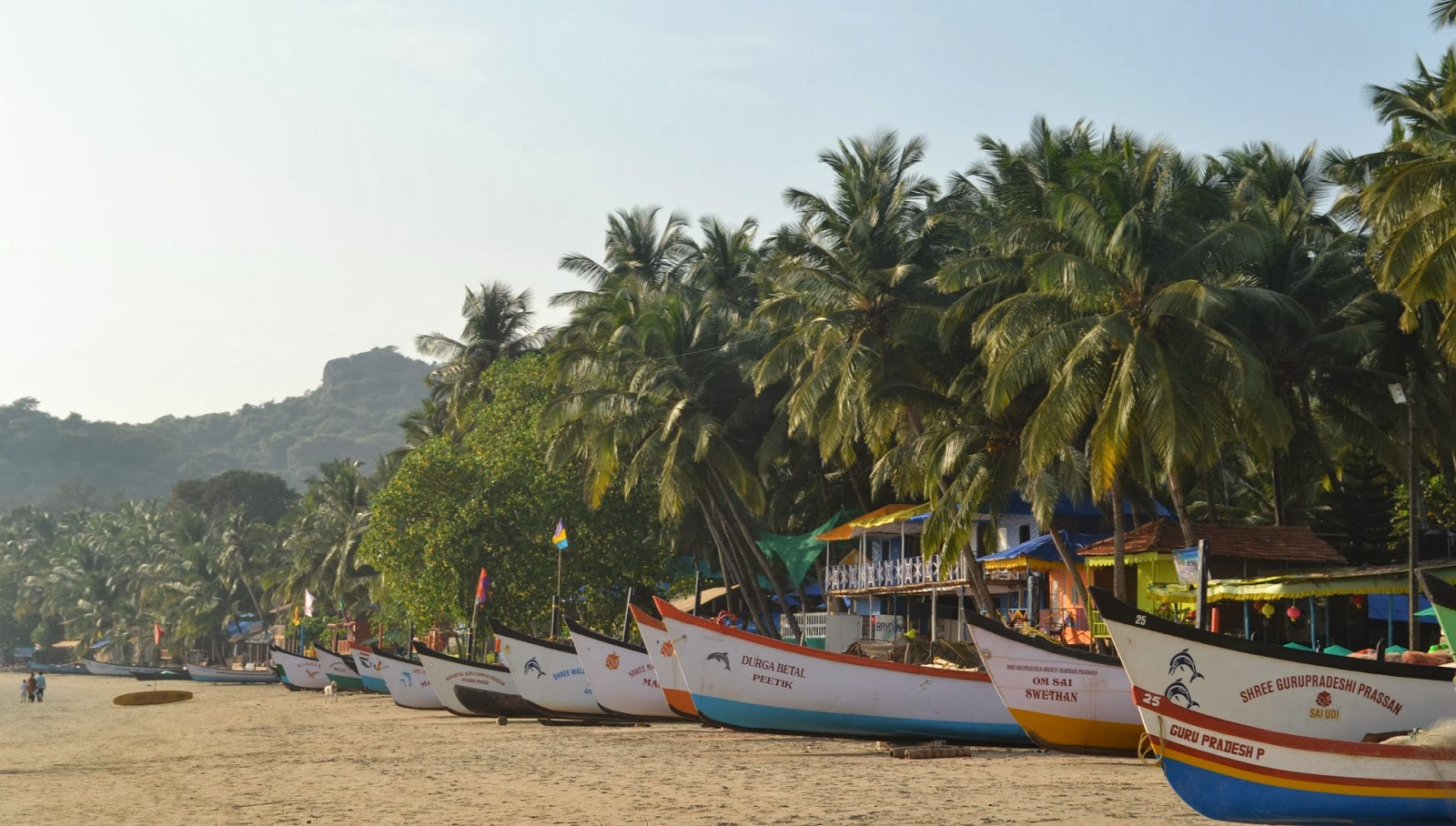 fishing boats palolem goa
