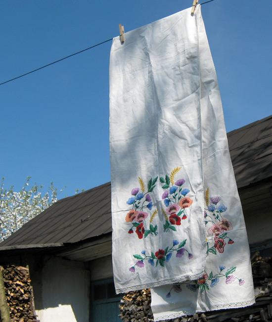 Grandma rushnik, рушник, вышивка