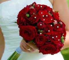 Bouquet De Fleurs Mariage Rouge