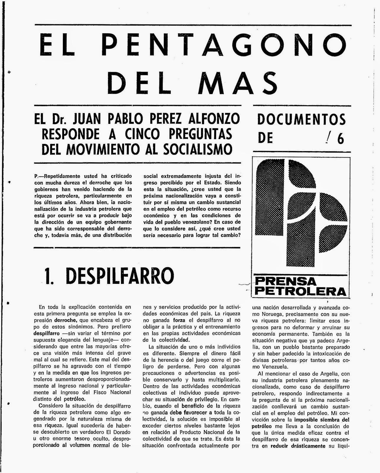 Documentos Nº 6 de Prensa Petrolera