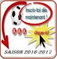 Inscriptions saison 2016 - 2017