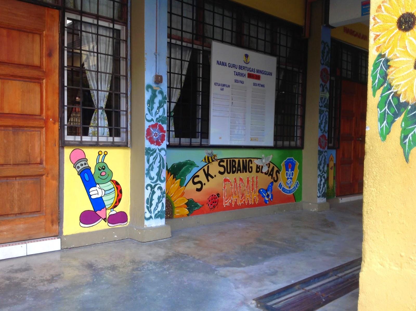 Pelukis mural shah alam mari ke sekolah for Mural sekolah