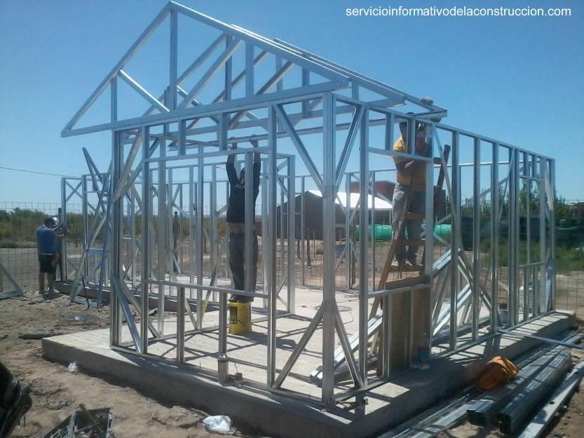 Arquitectura de Casas: Construcción con marcos de acero ligero Steel ...