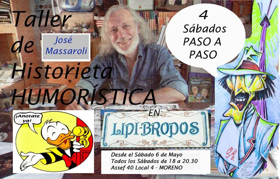 Seminario de Historieta Humorística en Moreno