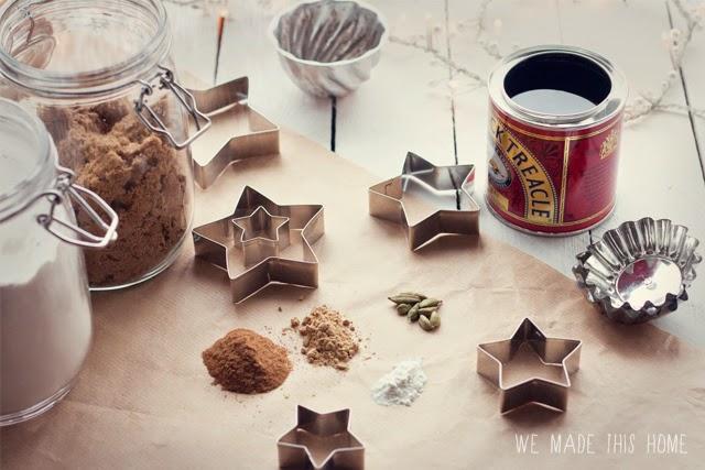 Winter spiced biscuits recipe