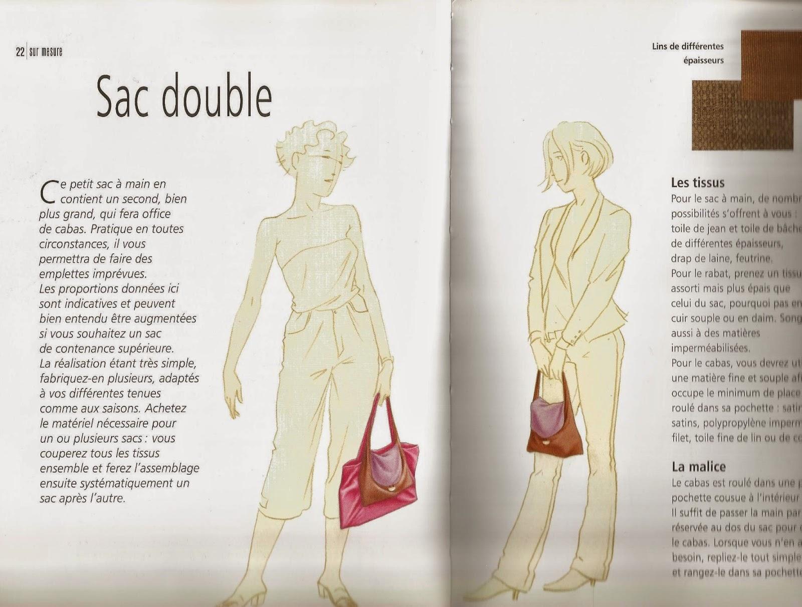 Fabriquer soi meme son sac a main mode2 - Modele sac a main a faire soi meme ...