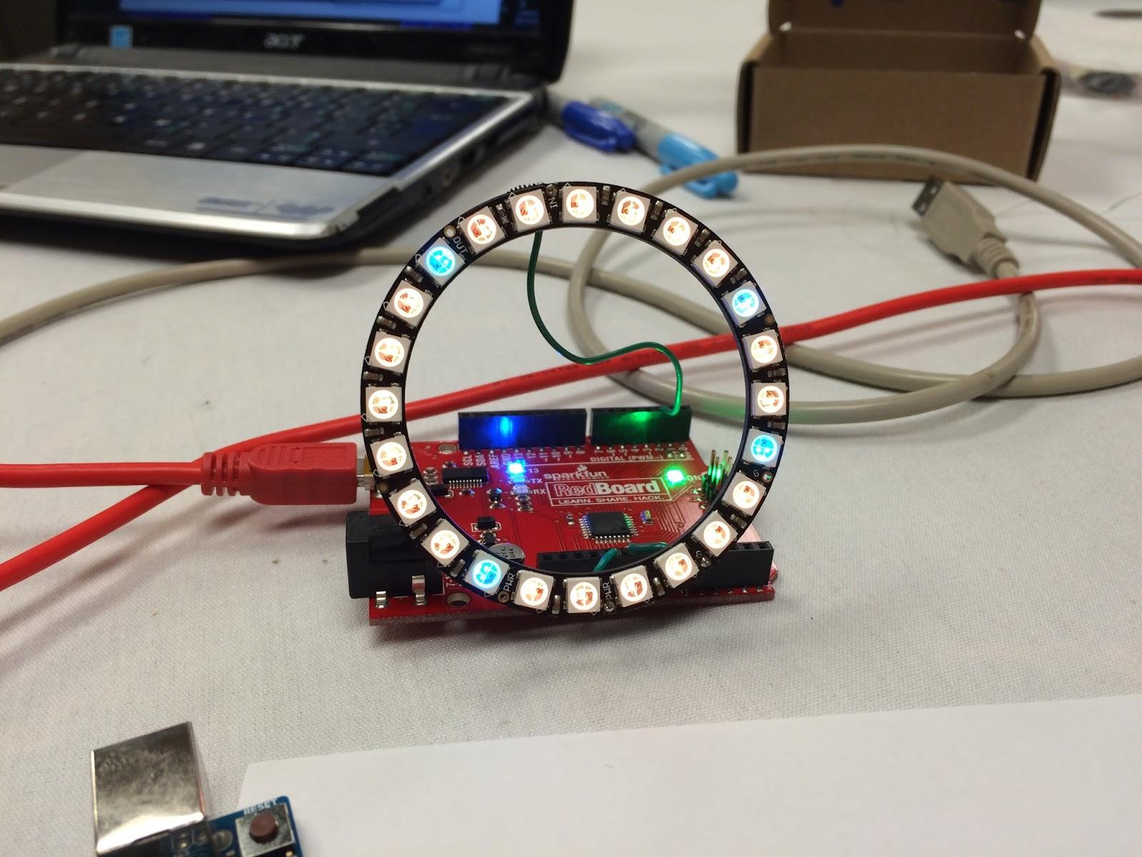 Lightlogo a logo programming microworld on an arduino