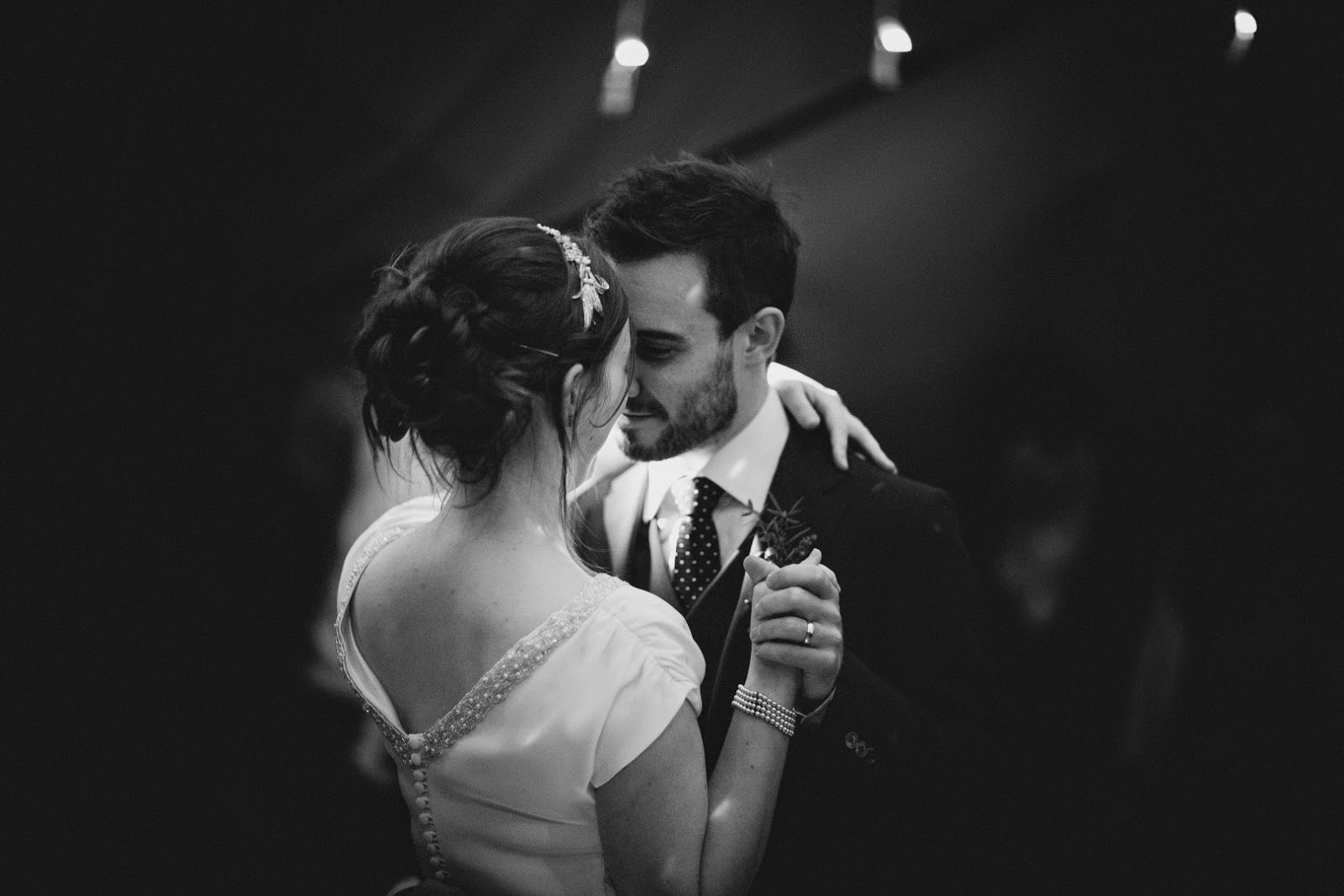 Real vintage bride Susie: first dance! Heavenly Vintage Brides Wedding Blog