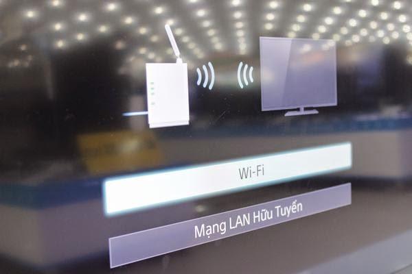 Hướng dẫn kết nối mạng cho Tivi Sony qua wifi 6