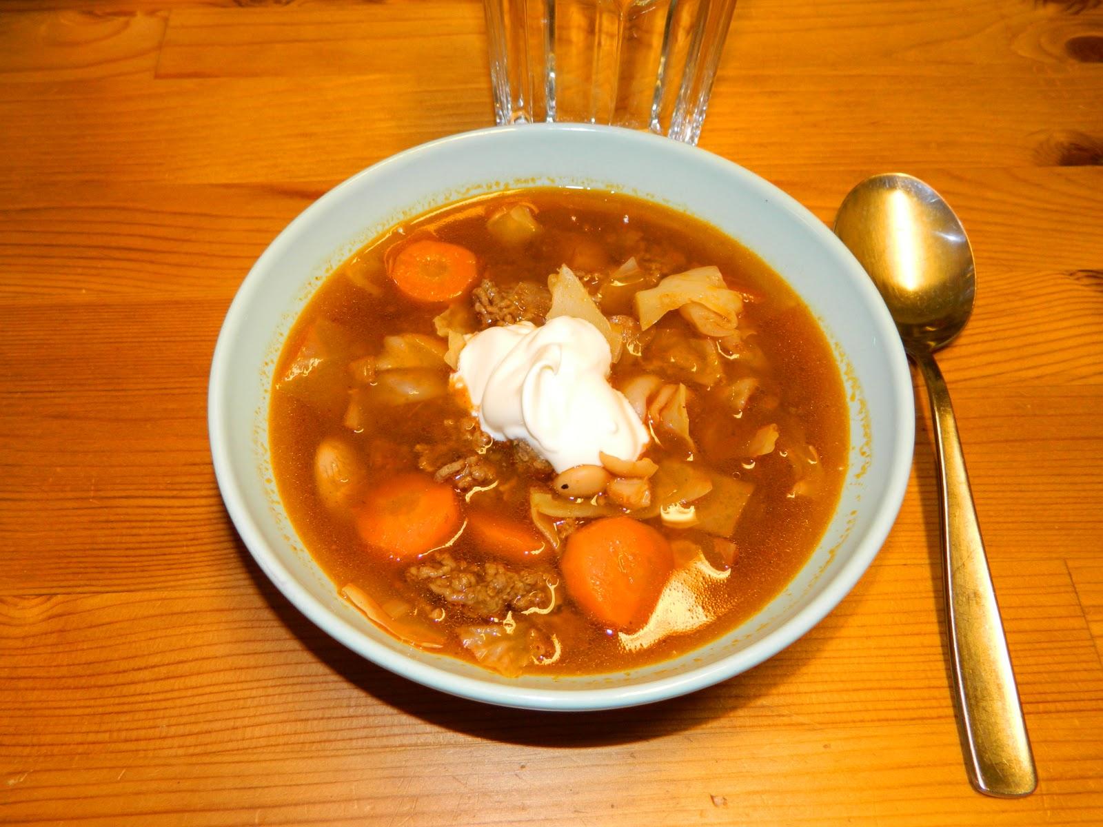 vitkål recept soppa