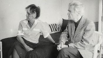 Emil Cioran con su esposa, Simone Boué