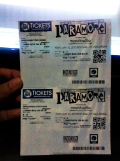 Paramore Concert in Philippines 2012