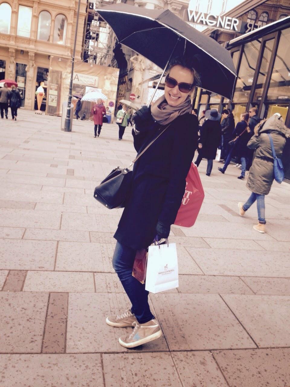 Einkaufsbummel in Wien