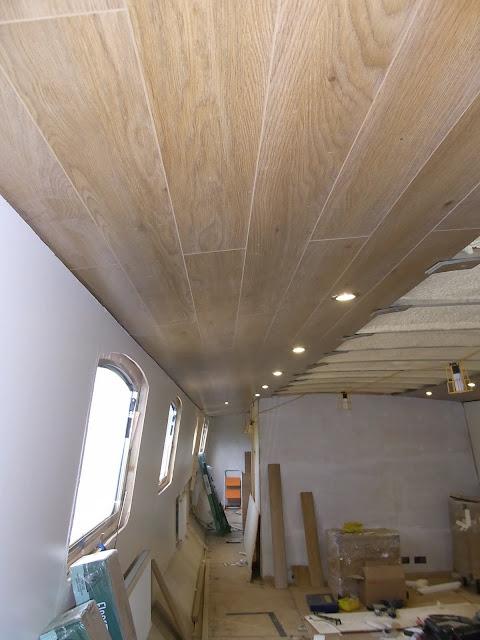 Widebeam Boat Build Blog May 2011