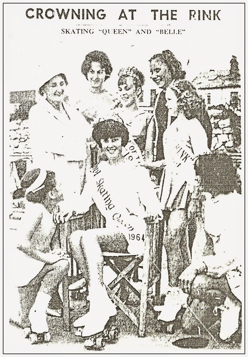 Roller skating vaughan - Caroline Howells Andrea Kubicz Linda Vaughan Ivy Kay