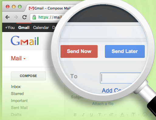 How To Schedule Email's In Gmail : With Send Later Option