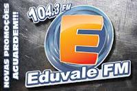 ouvir a Rádio Eduvale FM 104,3 Piraju SP