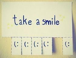 Llévate una sonrisa.