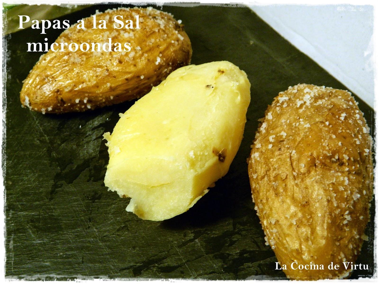 Patatas a la sal