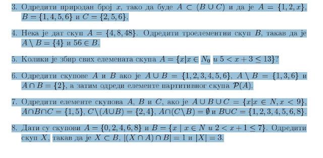 5 razred zadaci iz matematike