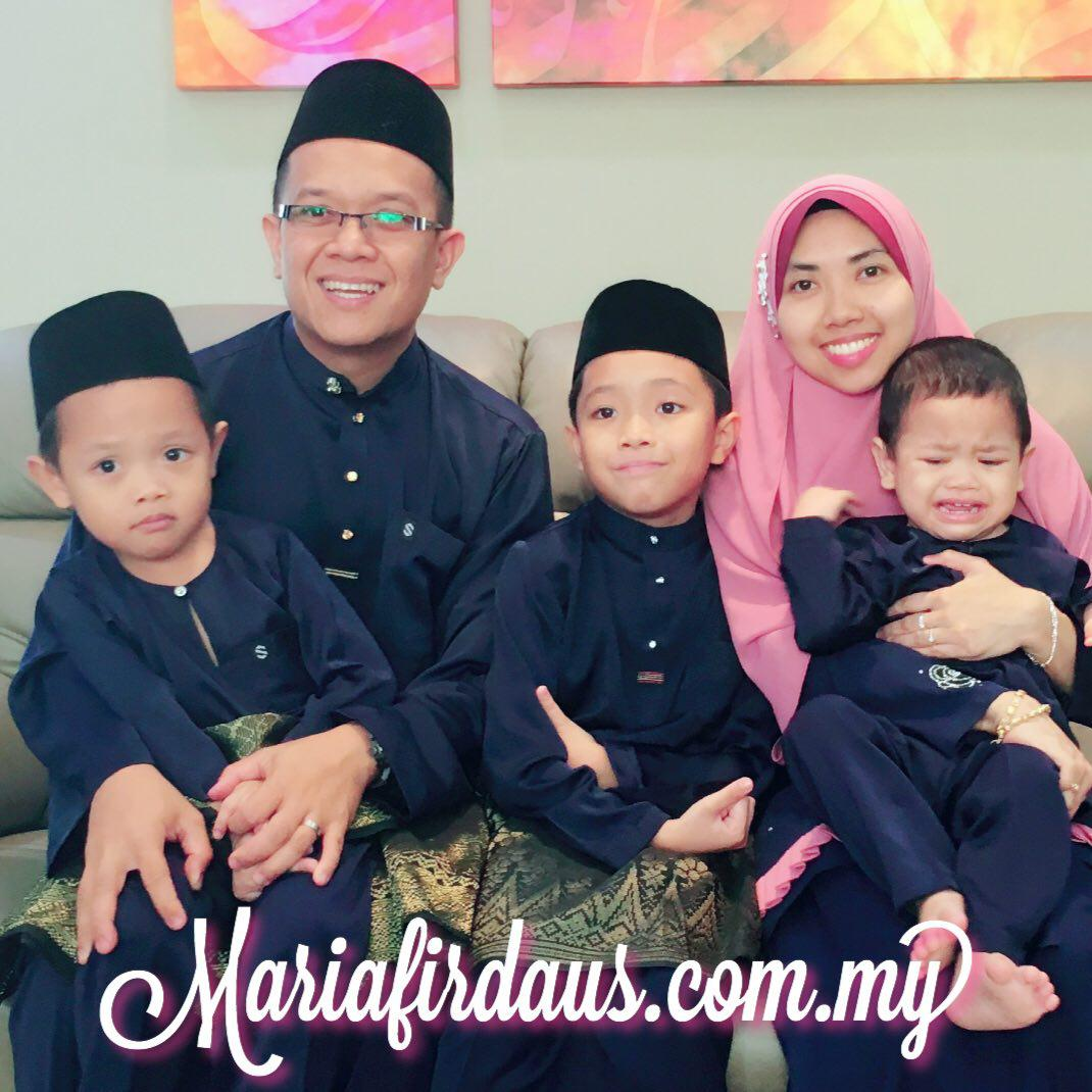 Maria Firdaus' Happy Family