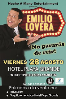 emilio lovera no pararas de reir stand up
